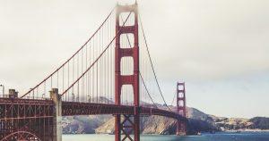 San Francisco, California, Bay, golden gate bridge