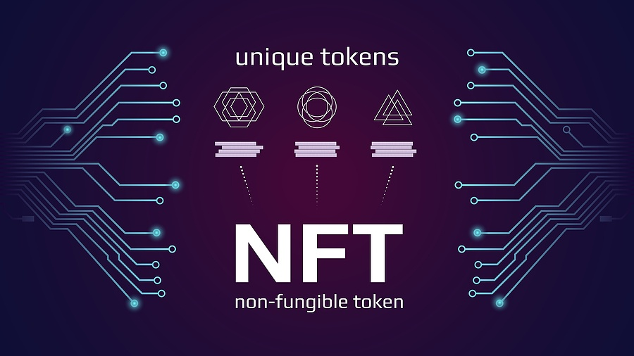 Nft, Nonfungible, Tokens, tech, chart, graph